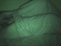 My older brother stroking it at night