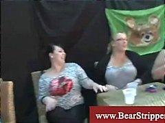 Cfnm insane women blowing out stripper