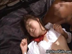 Cute school girl rin momoka hardcore part5