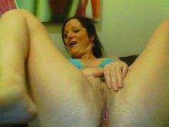Mature 45yo webcam masturbation 5