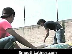 Mexican twinks go gay bareback