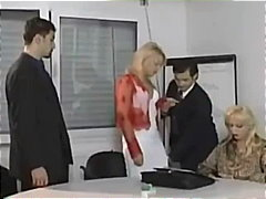 Euro bitch gets her ass pounded