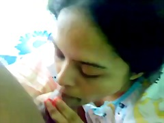 Suman aunty blowing her hubb's brother
