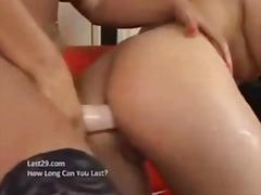 Using the dildo