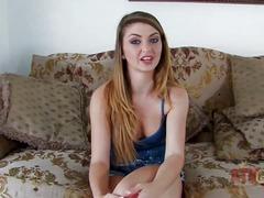 Teasing provocative brunette babe staci silverstone