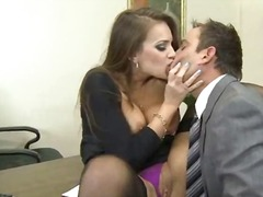 Xxx inside the office round reach man and sexy wife
