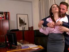 Big tited office seductress clanddi jinkcego