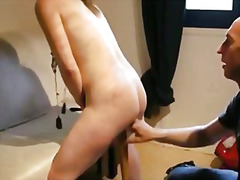 Video sexe bdsm baise sur batte soumise sandy porno