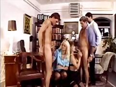 German mature classic orgy