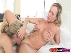 Lia lor and brandi love horny threesome