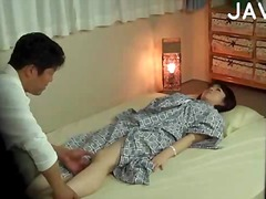 Furious patting with sex toy