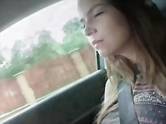 Marina gets pounded by the pervy driver