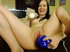 Gorgeous young pornstar squirting