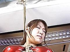 Yuri pregnant japanese in bondage